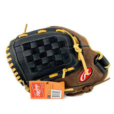 New Rawlings Lefty Baseball Glove 12.5 Left Thrower Rgb36Bc Brown Black Leather