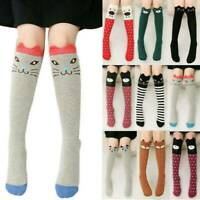Kids Girls Lovely Knee High Socks Tights 3D Cartoon Animal Leg Warmer Stockings