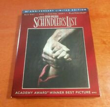 Schindlers List 20th Anniversary Limited Edition Blu-ray DVD Steven Spielberg