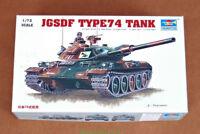 Trumpeter 1/72 07218 JGSDF Type74 Tank