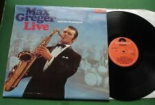 Max Greger & His Orchestra Live inc Midnight In Moscow + 249 273 LP