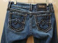"""Miss me Denim Sunny skinnies Jeans. Size 27X32.5 Rise 7.5 """" Waist Flat 14"""""""