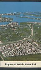 FLORIDA, VENICE FAMOUS RIDGEWOOD MOBILE HOME PARK AERIAL IZORA CIRCLE (FL-V*)