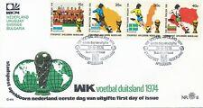 Stadspost Apeldoorn (nr. 8) - 1974 - WK - Blanco / Open klep