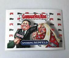 Snubbing Seinfeld 2017 Garbage Pail Kids GPK Network Spews #80 Kesha Sticker