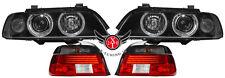 BMW E39 FACELIFT SCHEINWERFER Blk. Weiß CELIS RÜCKLEUCHTEN -08.00 grau-rot HELLA