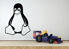 Vinyl Sticker Arctic Bird Tux Galapagos Penguin Animal Server Wall Decal F2399