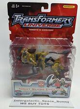 2004 Hasbro Transformers Universe RID Night Slash Cheetor Figure Carded MOC
