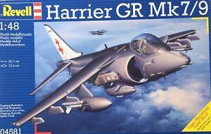 Revell 1/48 Harrier GR Mk7/9