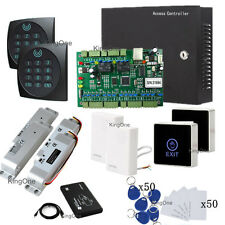 Two Door Electric Drop Bolt Lock WG2002.Tcp/Ip Net Security Control RFID Kits