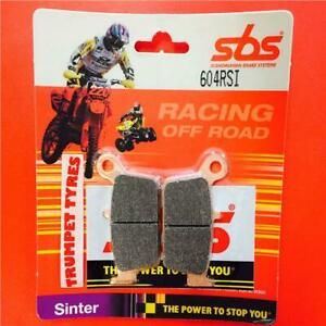 Gas GAS MC 125 03>ON SBS Rear Off Road Race Sinter Brake Pads EO QUALITY 604RSI