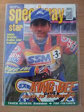 SPEEDWAY STAR  MAGAZINE - GREG HANCOCK - 15 MARCH 1997