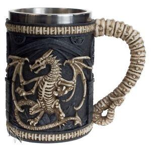 Dragon Remains Tankard Mug Nemesis Now 13.5cm High