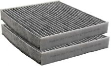 (2 PACK) Toyota Premium Carbon Cabin Air Filter Fits OEM 87139-YZZ10 87139-YZZ08