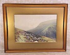 British School Watercolor & Tempera Painting Doon Valley Exmoor
