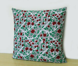 Cotton Cushion Covers 100% Block Printed Pillow Covers