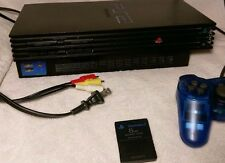 Sony Playstation 2 Console  - One Controller - Memory Card - with 3 Game Bundle