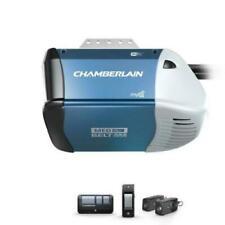 New ListingNew! Chamberlain 1/2 Hp Equivalent Ac Belt Drive Smart Garage Door Opener B353
