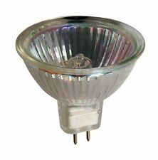 12v 15w MR16 Halogen Light Bulb Glass Cover 12v GU5.3 Christmas Lamp Spot Bulb