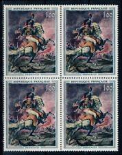 Timbres français neufs de 1961 à 1970 sur chevaux