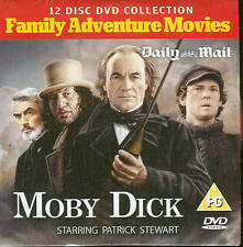 MOBY DICK - Family Adventure Movie Starring Patrick Stewart - DVD