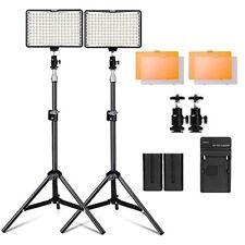 "Kit de iluminación de estudio Para Fotografía Canon Nikon, 160 luz LED con Soporte 79"""