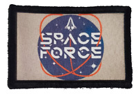 Space Force Trump Morale Patch Tactical ARMY Hook Military USA Badge Flag