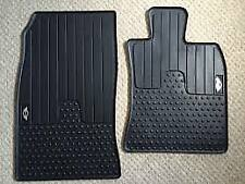 Genuine MINI All-weather floor mats, FRONT R60 Countryman PN: 51472243921 UK