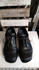 Prada  - Black Leather Vibram Casual Oxford Lace Up Man's Size 9 US 10