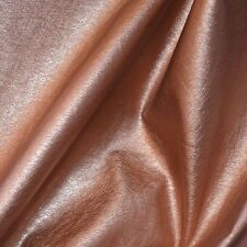 "Rose Gold  Color  Faux Leather MiddleWeight 55"" W Home Decor  Fashion Fabric BTY"