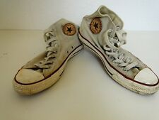 Converse all star Chuck sneaker baskets High taylor tissu crème taille 8/41,5