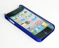 Protector Funda Bumper Carcasa Rígida para el Teléfono Móvil iPhone 4G azul 952