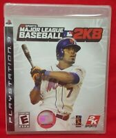 MLB Major League Baseball 2K8  - PlayStation 3 PS3 Game New Factory XY Sealed