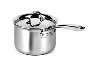 All-Clad Master Chef Bonded 2-qt Sauce Pan with Lid