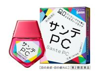 Santen Sante PC Eye Drops for PC Smartphone Made in Japan Eyedrops 12ml Cool