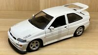 UT Models 1:18 Scale - Ford Escort RS Cosworth - White - Diecast Model Car