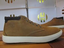 NEW Timberland Ashwood Park LEATHER Chukka Boots Wheat 9.5 A1Z3K Ankle mid hiker