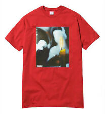 Supreme x Andres Serrano drop Candle Tee Red