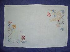VINTAGE Crinoline Lady tray cloth / table mat