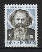 AUSTRIA 1963  MNH  SC.705 Hermann Bahr,poet