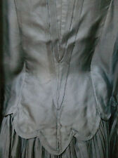 Victorian 1880`s Black Silk Capelet /Mantle.Provenance.Darlin gton,Runk & Co