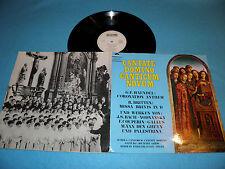 Schola Cantorum Cantate Domino - Boys Choir / Michael Ghijs SUPER RARE Promo LP