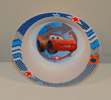 "2008 Lightning McQueen Kids Melamine 4"" Cereal Bowl Disney Pixar Cars"