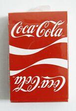 Vintage 1984 Coca Cola Coke Double Logo Reverse Logo Two Logo Playing Cards