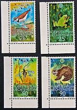 LIECHTENSTEIN - timbre/stamp Yvert et Tellier n°908 à 911 n** (cyn5)