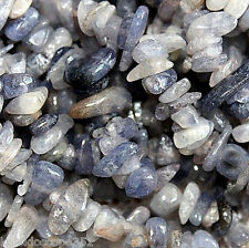 "IOLITE Gemstone Jewelry Bead Chips 33"" STRAND 5-12MM STONE Beads Chip SC33"