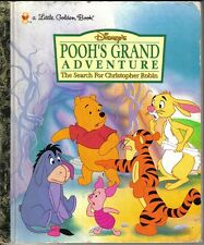 1997  Little Golden Book, Pooh's Grand Adventure by Justine Korman