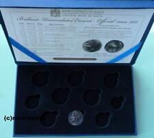 Malta 2011 leeres Original Off. Euro Münzetui für BU Kursmünzensatz KMS Replik