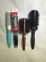 Hair brushes Assorted Colors, Styles, and Sizes (Some Damage To Some Items)