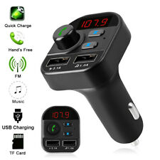 Bluetooth Car Kit Wireless FM Transmitter USB Charger Adapter MP3 Player Stereo